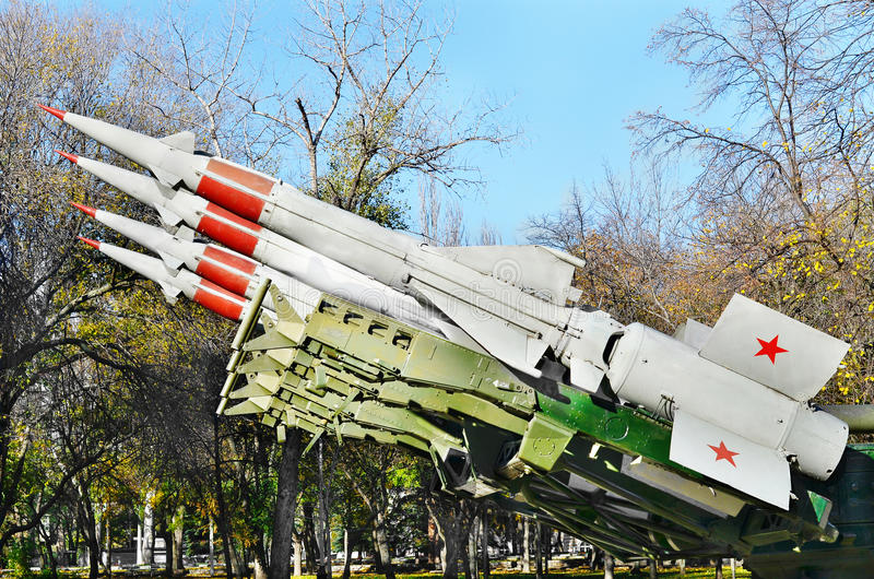 Download Antiaircraft Missile.Retro Weaponry Stock Image - Image: 37815751