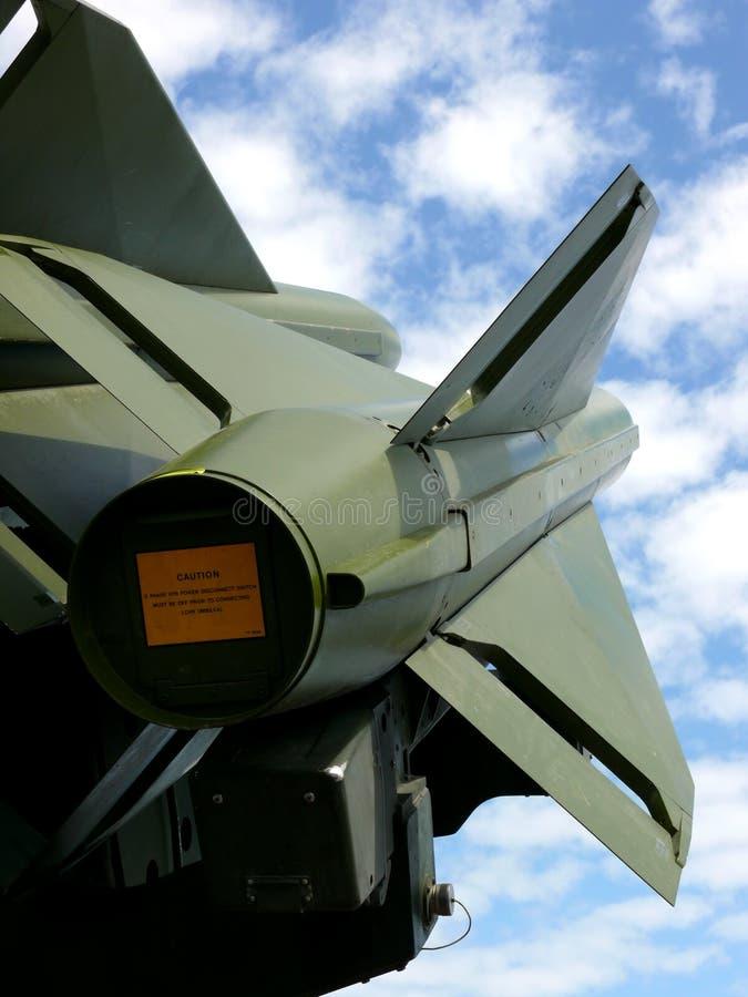 antiaircraft missiler royaltyfri bild