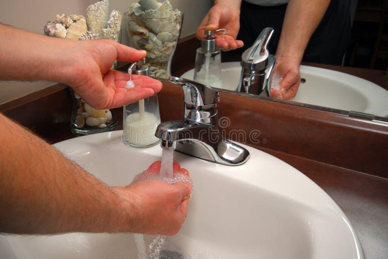 Antibacteriële zeep royalty-vrije stock foto's