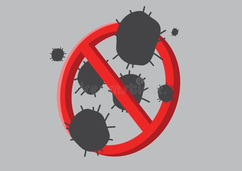 Antibacteriën royalty-vrije illustratie