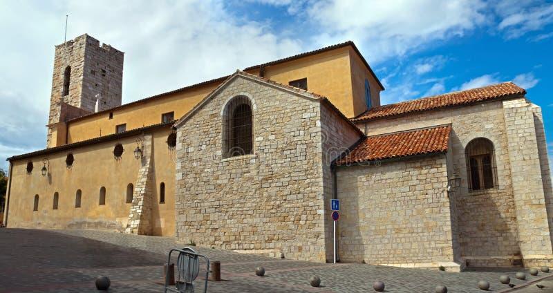 Antibes - château de Grimaldi image libre de droits