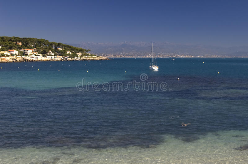 Antibes Coast royalty free stock photos