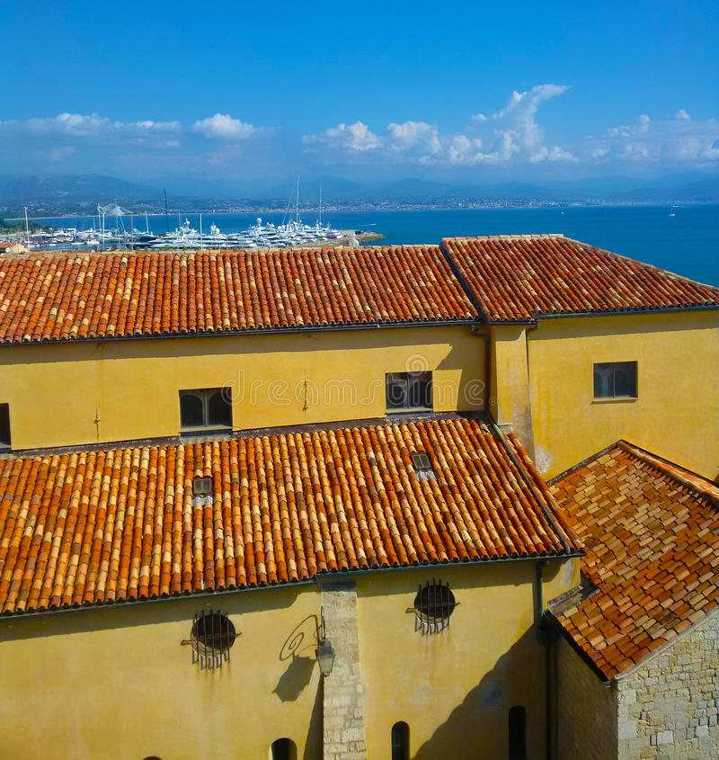 Antibes, d'Azur de CÃ'te, Provence, França imagens de stock royalty free