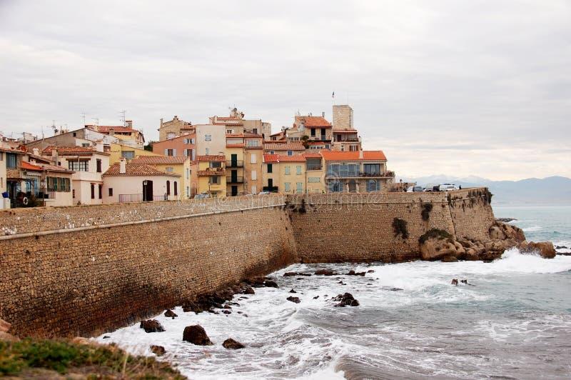 Antibes, Franse Riviera stock afbeeldingen