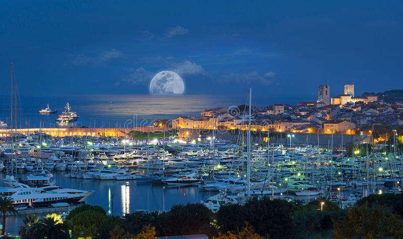 Antibes, Riviera francês, costa d Azur fotografia de stock royalty free