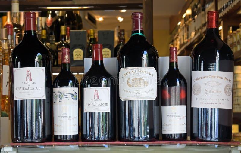Antibes - vinhos do castelo imagens de stock royalty free