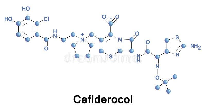 Antibiótico de la cefalosporina de Cefiderocol libre illustration