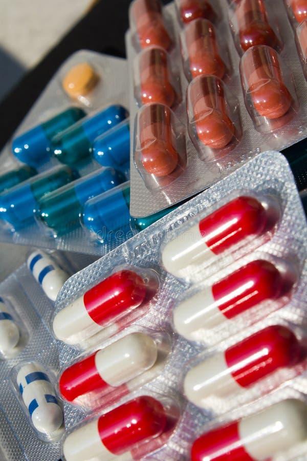 Antibióticos imágenes de archivo libres de regalías
