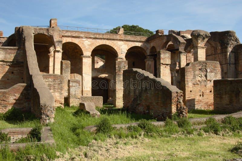 antica ostia rujnuje s obrazy royalty free
