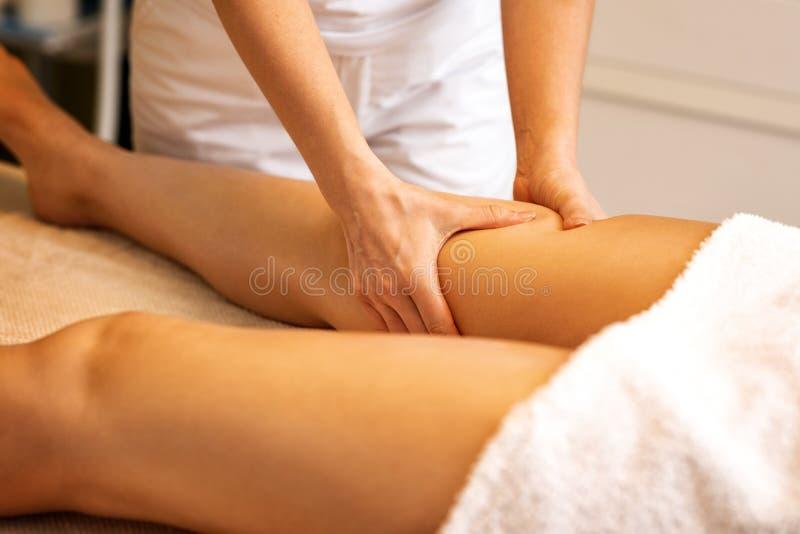 Anticellulite Massage stockfotos