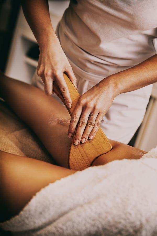 Anticellulite Massage stockfoto