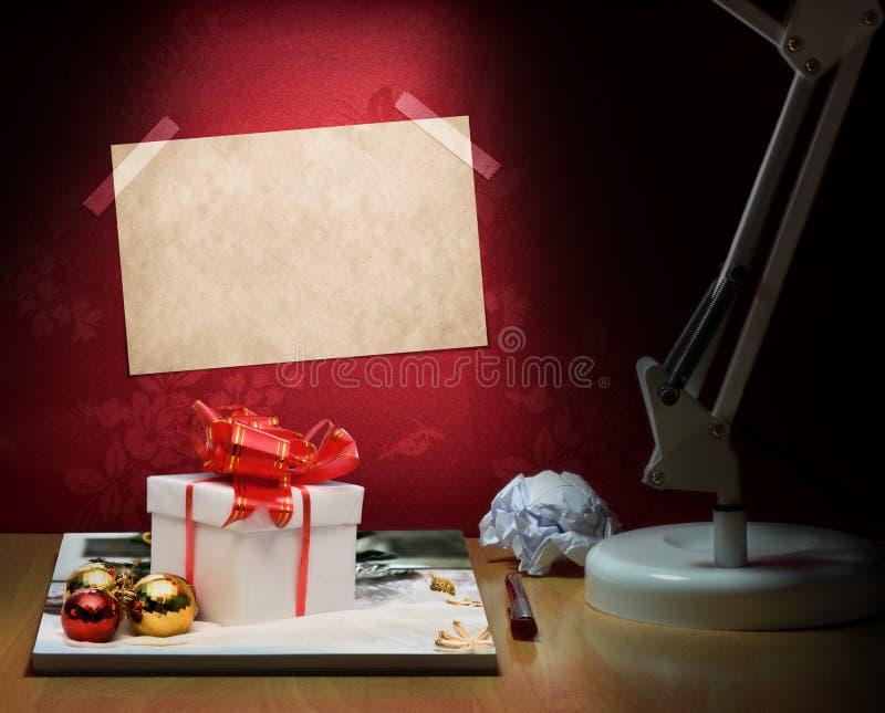 Anticipación de la Navidad fotografía de archivo