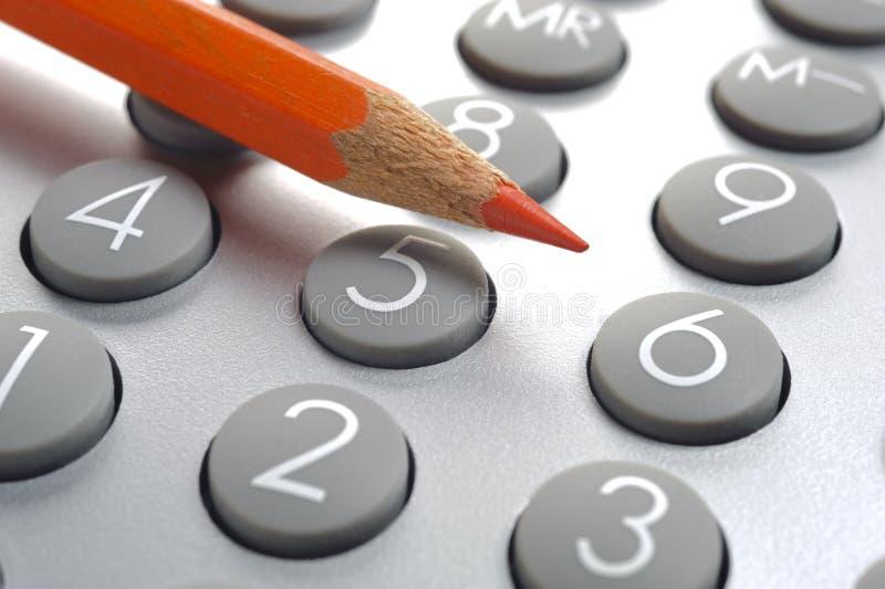 Anticipation commerciale de finances images stock