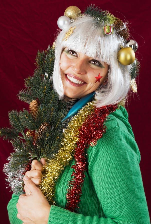 Anticipation de Noël photo libre de droits