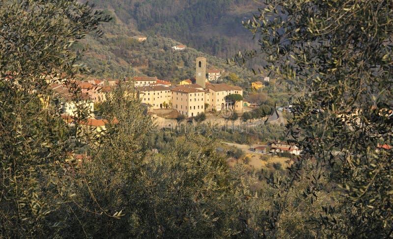 antico borgo widok fotografia royalty free