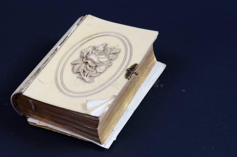 Antiek boek stock foto's