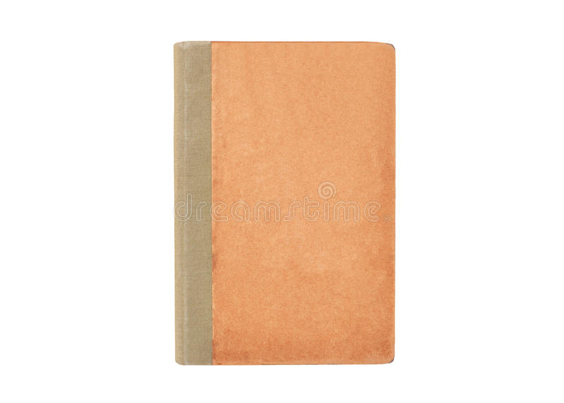 Antiek boek op wit royalty-vrije stock foto's