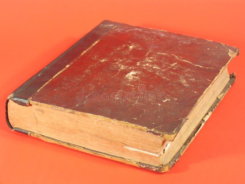 Antiek Boek V royalty-vrije stock afbeelding