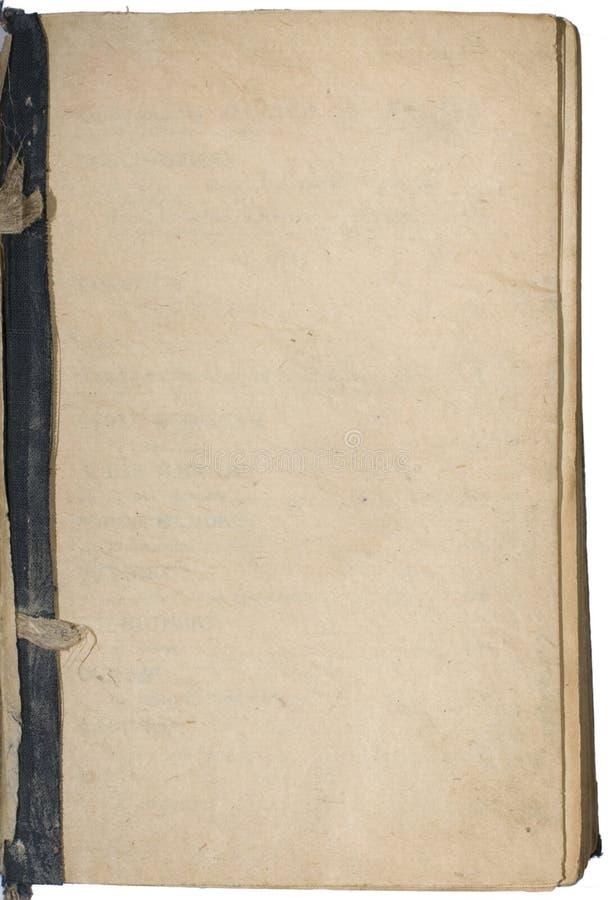 Antiek document stock fotografie