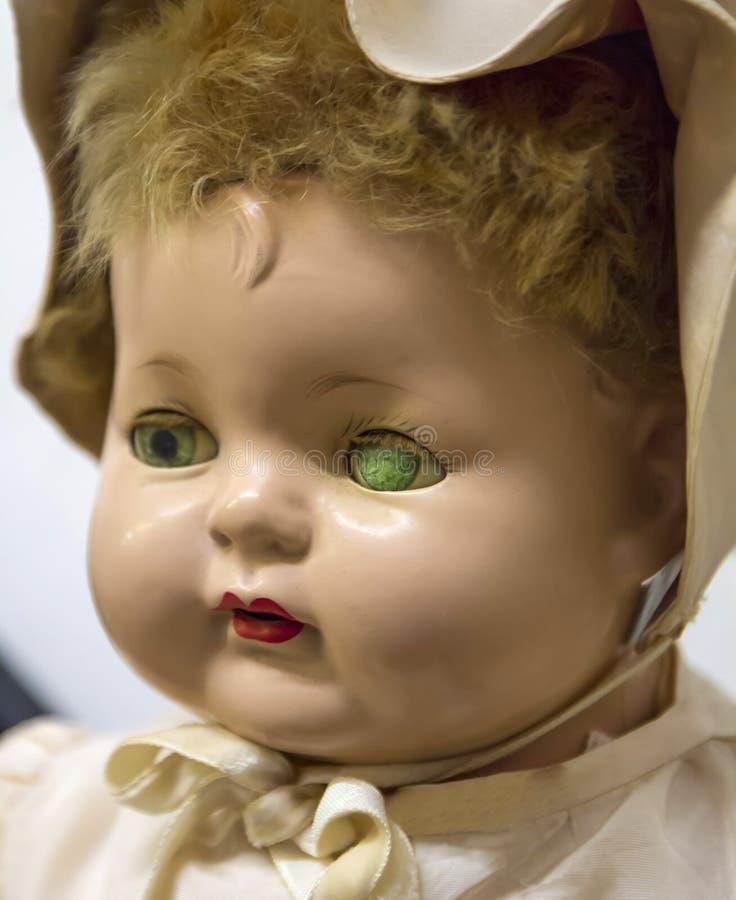 Antiek Doll stock afbeeldingen
