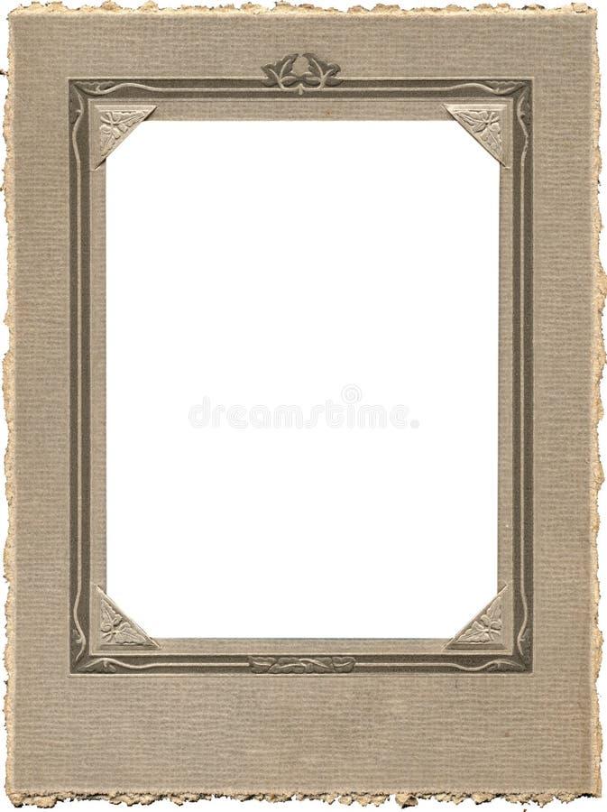 Antiek fotoframe royalty-vrije stock foto's