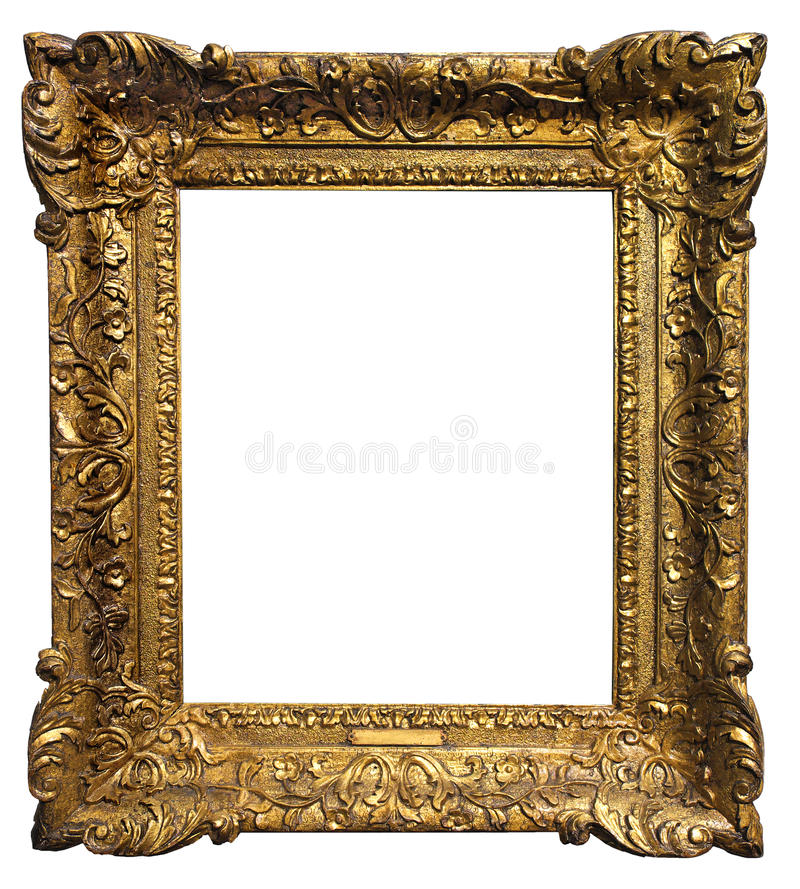 Antiek frame stock fotografie