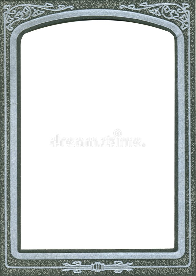Antiek frame stock foto