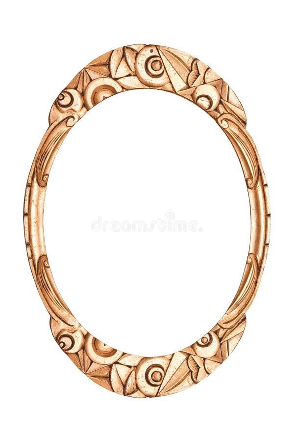 Antiek frame art deco stock afbeelding
