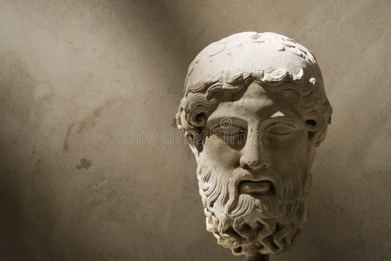 Antiek hoofd royalty-vrije stock foto's