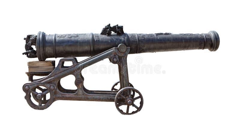 Antiek kanon royalty-vrije stock afbeeldingen