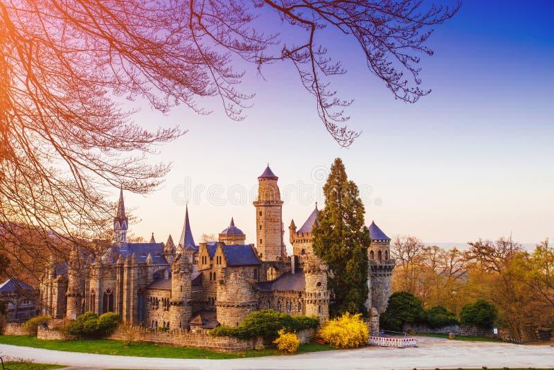 Antiek kasteel stock afbeeldingen