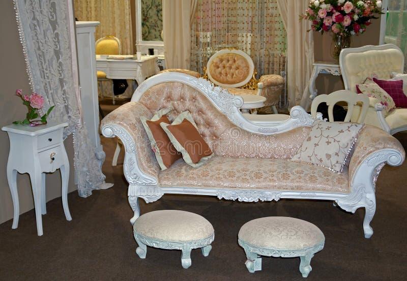 Antiek meubilair royalty-vrije stock foto's