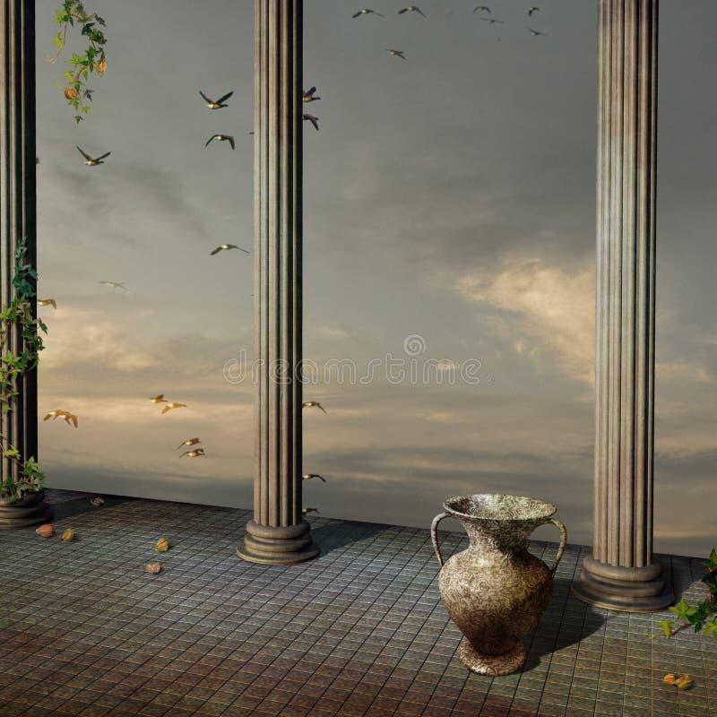 Antiek paleis