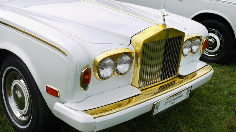 Antiek Rolls Royce stock foto's