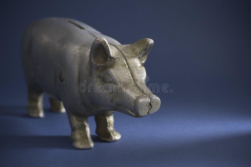 Antiek Spaarvarken royalty-vrije stock afbeelding