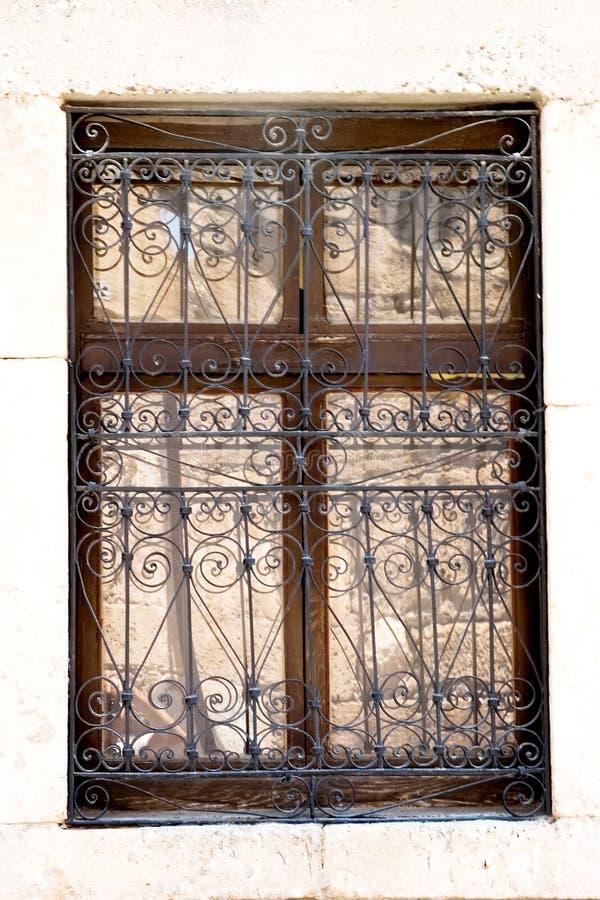 Antiek venster royalty-vrije stock foto