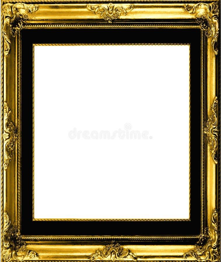 Antiek verguld frame stock illustratie