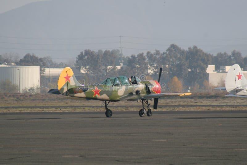 Antiek Vliegtuig royalty-vrije stock foto's