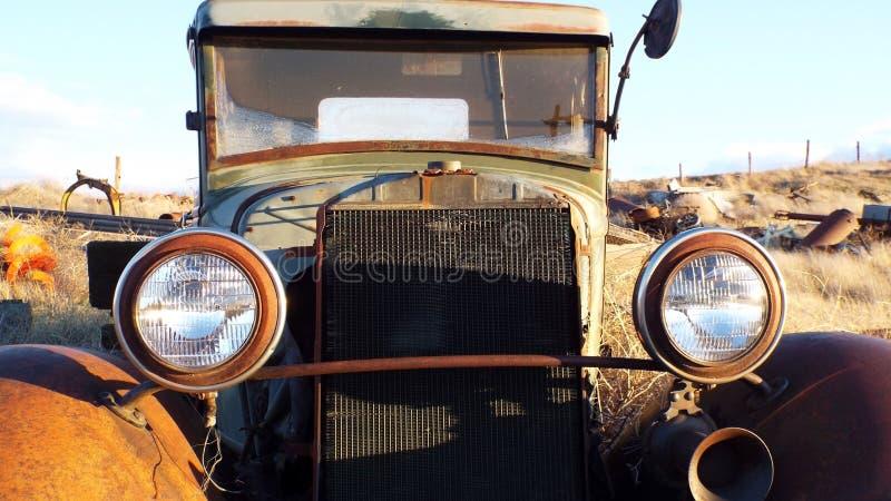 Antiek voertuig royalty-vrije stock afbeelding