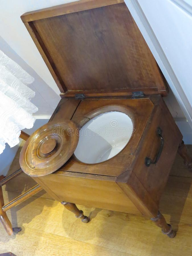 Antieke badkamers royalty-vrije stock foto