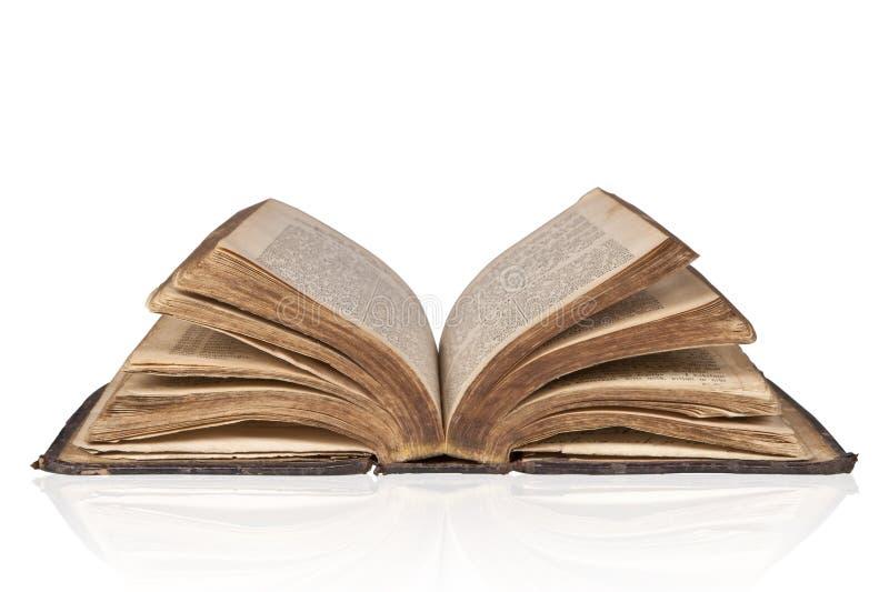 Antieke bijbel. royalty-vrije stock afbeelding