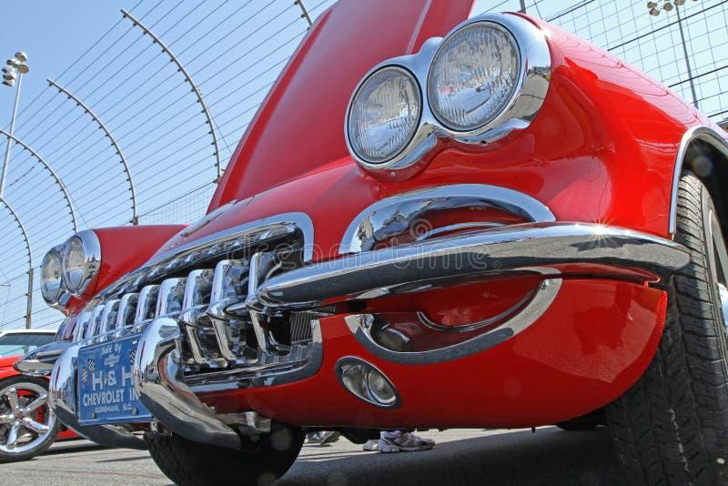 Antieke Chevrolet-Korvetauto royalty-vrije stock afbeelding