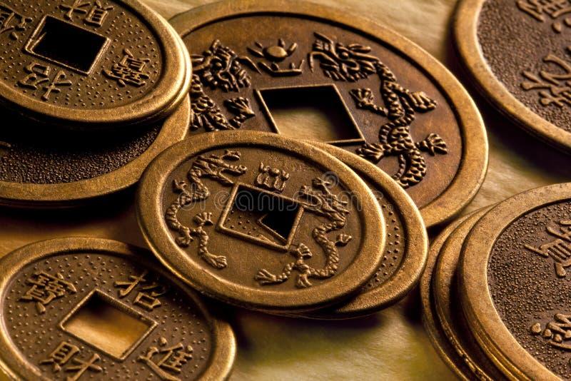Antieke Chinese Muntstukken - China stock foto's