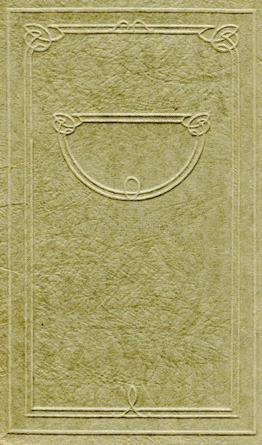Antieke dekking royalty-vrije stock afbeelding