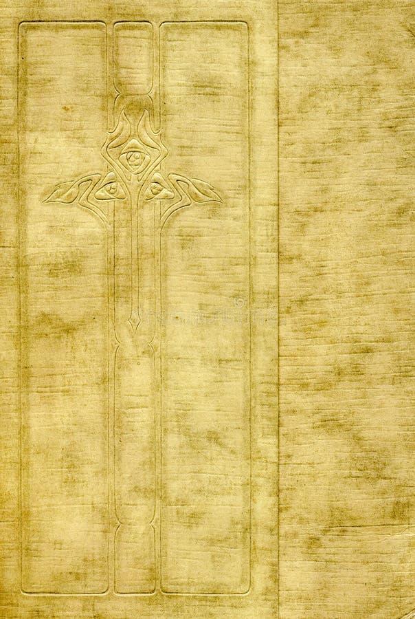 Antieke dekking met ontwerp stock fotografie