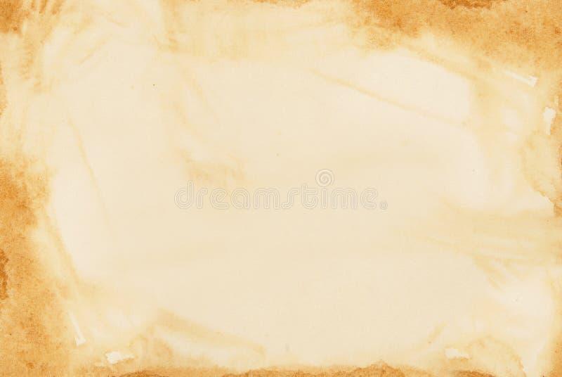 Antieke document achtergrond. vector illustratie
