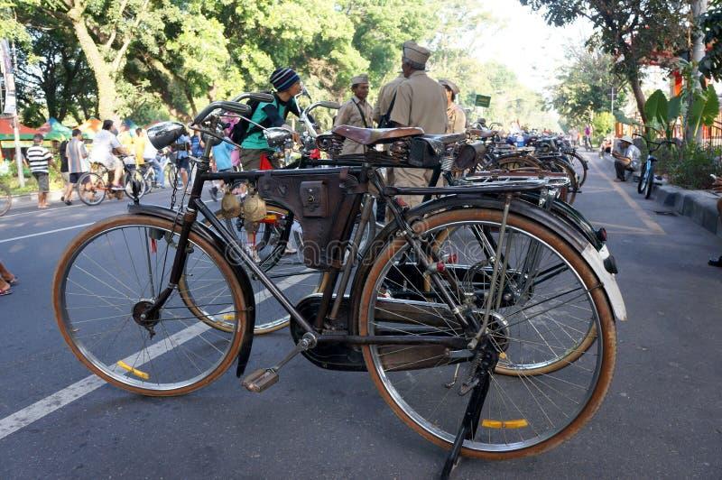 Antieke fiets royalty-vrije stock foto