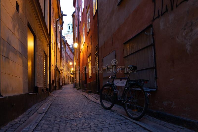 Antieke fiets stock foto