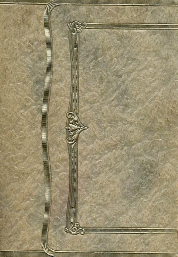 Antieke fotoframe dekking royalty-vrije stock afbeeldingen