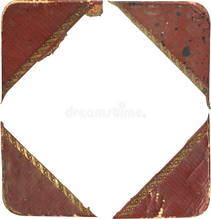 Antieke fotohoeken royalty-vrije stock foto's